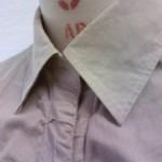 台襟付きシャツカラーです
