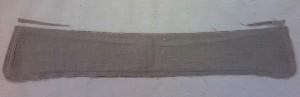 台襟に縫い付けるラインを調整